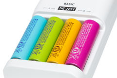Free Battery Charger Royalty Free Stock Images - 53229899