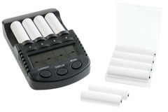 Battery charger. Stock Photography