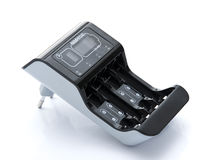 Battery Charger With Indicator Stock Photography