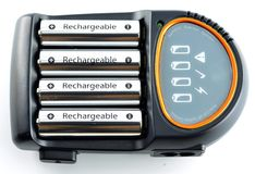 Battery Charger Royalty Free Stock Image