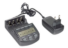 The Battery charger Stock Photo