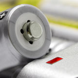 Battery charger size AA Royalty Free Stock Images