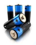 Battery 3d Stock Photography