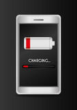 Battery design. Stock Photography