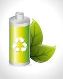 Battery design. Stock Image
