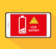 Battery design. Royalty Free Stock Photography