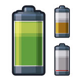 Battery energy design. Royalty Free Stock Photos