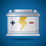 Battery energy design. Stock Photography