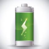 Battery energy design. Stock Image
