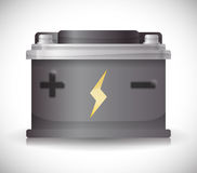 Battery energy design. Royalty Free Stock Images