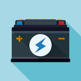 Battery energy design. Royalty Free Stock Image