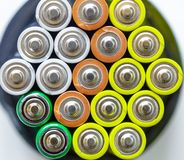 Battery, Energy, Recharge, Background, Color 3 stock photo