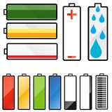 Battery graphics Stock Photo