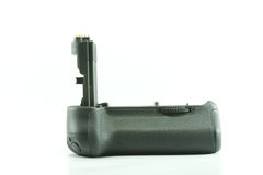 Battery grip for digital camera Royalty Free Stock Photo