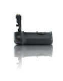 Battery grip. For dslr cameras isolated over white Royalty Free Stock Image