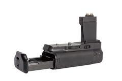 Battery grip for modern DSLR camera Royalty Free Stock Photos