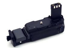 Battery grip Stock Photo