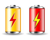 Battery icon Stock Images