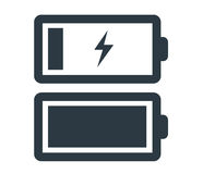 Battery Icon Set Royalty Free Stock Images