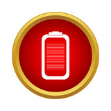 Battery icon, simple style Royalty Free Stock Image