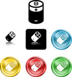 Battery icon symbol Stock Photos