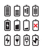 Battery icon Royalty Free Stock Image
