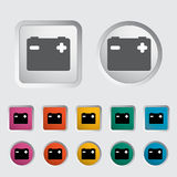 Battery icon. Vector illustration EPS Stock Photography