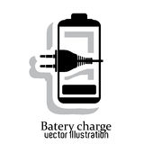 Battery icons Royalty Free Stock Image