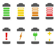 Battery Icons vector illustration