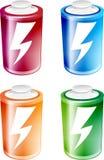 Battery Illustration stock photo