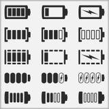 Battery Indicators Stock Photo