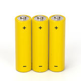 Battery isolated Stock Photography