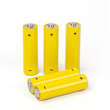 Battery isolated on white background Stock Photography