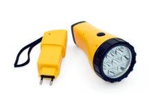 Battery lantern Stock Image