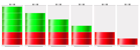Battery level Royalty Free Stock Photography