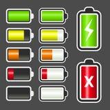 Battery Level Indicator Kit Royalty Free Stock Photos