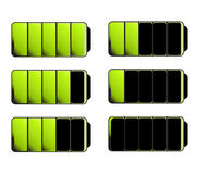 Battery Level Indicator Symbols Stock Images