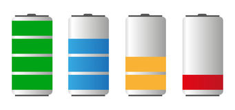 Battery Life Royalty Free Illustration