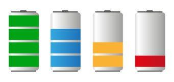 Battery Life Stock Photo