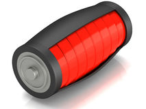 Battery load icon Stock Photos