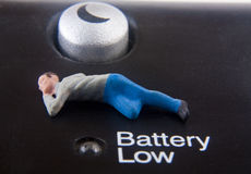 Battery Low Stock Photos