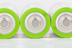 Battery. Lying AA Batteries - Stock Image macro Stock Photos