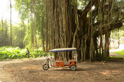 Battery Operated Rickshaw Royalty Free Stock Photography