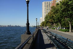 Battery Park City Esplanade 7 Stock Photography