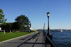 Battery Park City Esplanade 32 Royalty Free Stock Photo