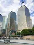 Battery Park, Lower Manhattan Royalty Free Stock Photo