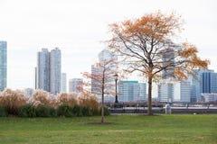 Battery park in Manhattan Stock Image