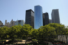 Battery Park in New York Royalty Free Stock Photo