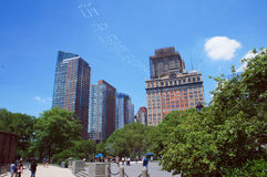 Battery Park of New York Royalty Free Stock Photos