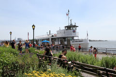 Battery Park NYC royalty free stock images
